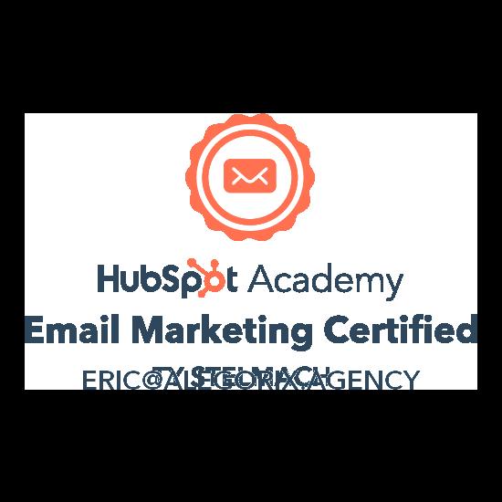 Agence de communication Digitale certifiée Hubspot Academy