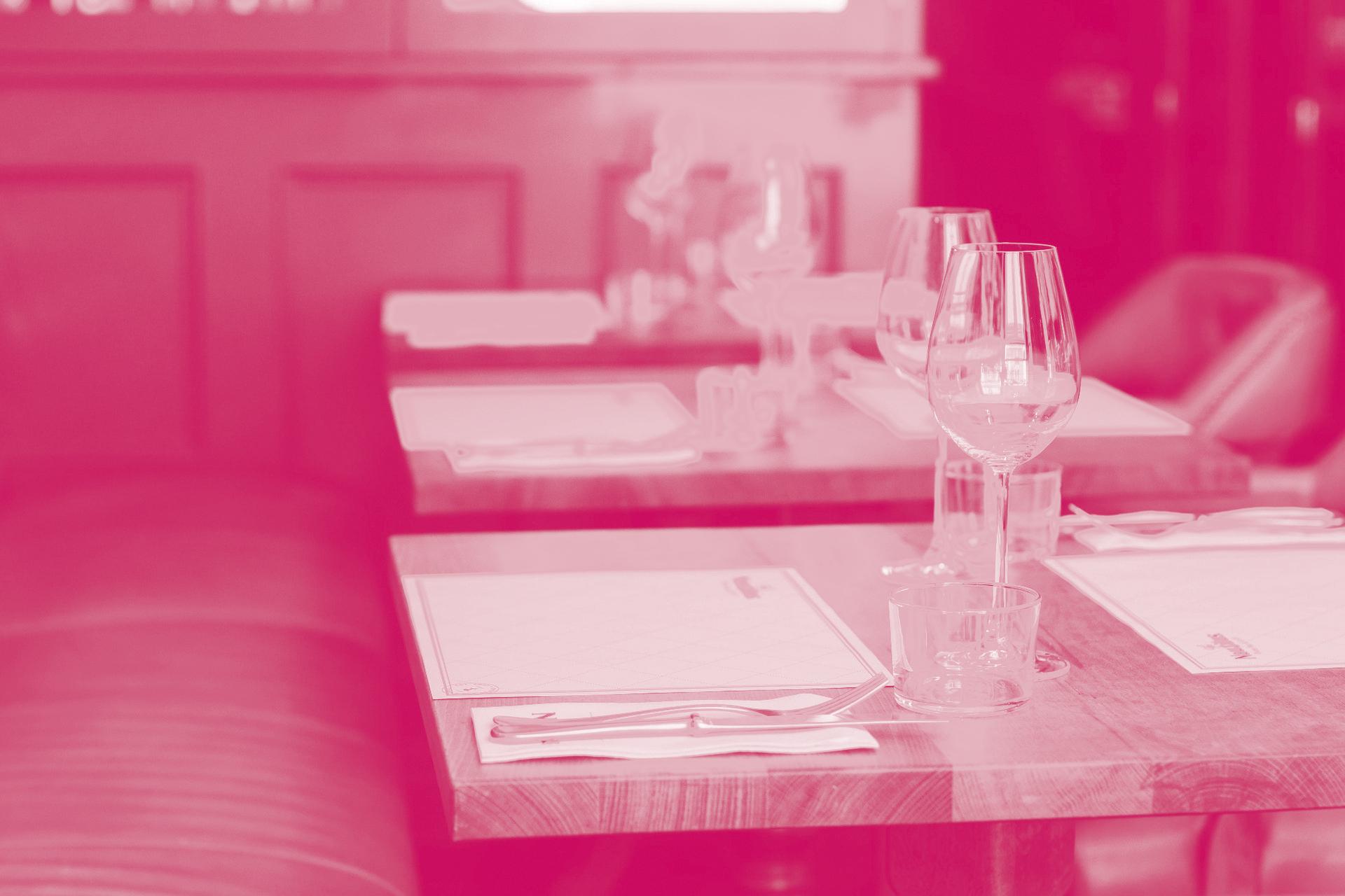 Création de site internet pour les restaurants, système de réservations en ligne, applications web